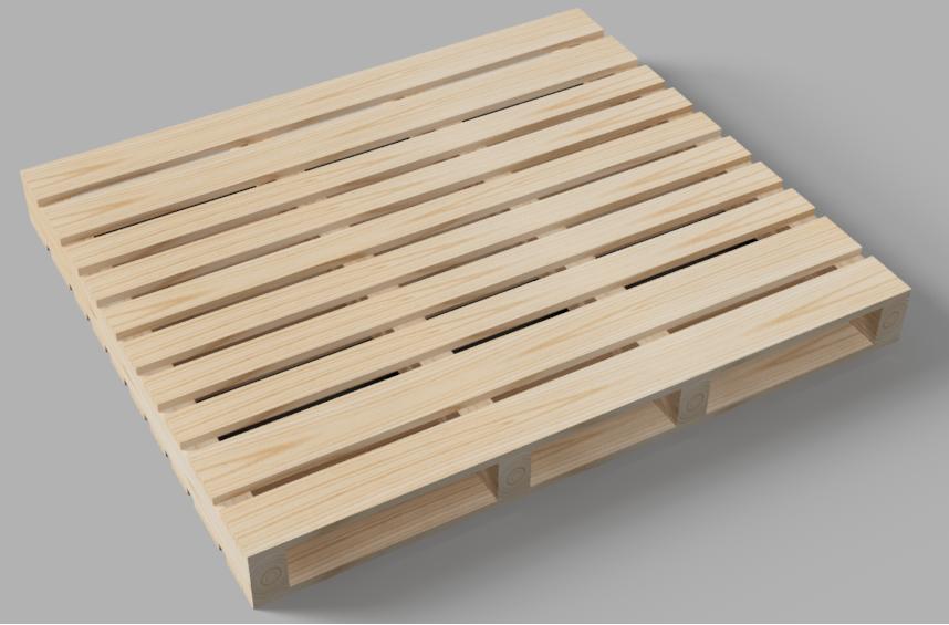 Pallet gỗ 1450x1250x140mm
