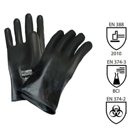 NORTH BUTYL UNSUPPORTED GLOVES