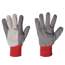 WORKGard® COTTON GLOVES WITH LAMINATED DOTS