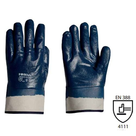 WORKSafe® SOLVOTRIL NITRILE GLOVES, JERSEY COTTON (SAFETY CUFF)