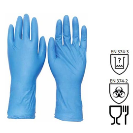 WORKSafe® 12-INCH DISPOSABLE NITRILE GLOVES (POWDER FREE)