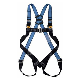 WORKSafe® WSFAB141-01 FULL BODY HARNESS WITH FRONT AND DORSAL ANCHORAGE POINTS