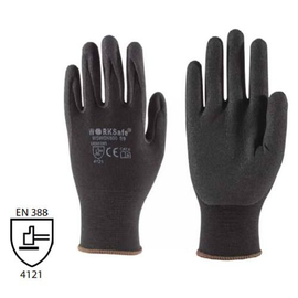 WORKSafe® NITRILE MICRO-FOAM SEAMLESS NYLON LINER GLOVES