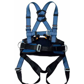 WORKSafe® WSFAB150-01 FULL BODY HARNESS WITH FRONT, DORSAL ANCHORAGE POINTS, AND WORK POSITIONING BELT