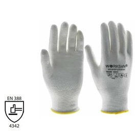 WORKSafe® HPPE/PU CUT-RESISTANT GLOVES