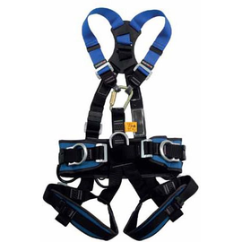 WORKSafe® WSFAB170-01 FULL BODY HARNESS WITH FRONT, DORSAL ANCHORAGE POINTS, AND WORK POSITIONING BELT